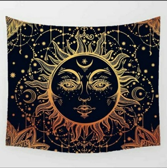 Magic Sun God - Table Cloth - Bordsduk -