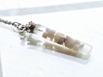Orgonit Pendulum - Unique, handmade, blessed - NO 15 Vargavinter