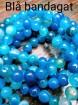 Mermaid Blue Agat Earrings