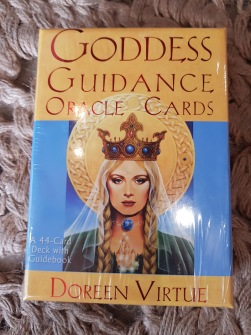 Goddess Guidance Oracle Cards by Doreen Virtue -