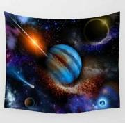 Fantasy Jupiter tarot tablecloth