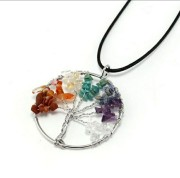 Chakra necklace Tree of Life