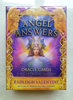 Angel Answers Oracle Cards by Radleigh Valentine -
