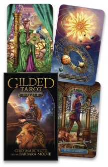 Gilded Tarot Royale  by Ciro Marchetti, Barbara Moore - Deck only