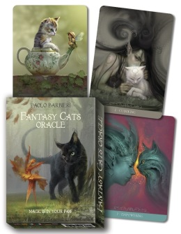Fantasy Cats Oracle av Paolo Barbieri -