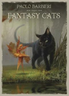Barbieri Fantasy Cats Book  by Paolo Barbieri -