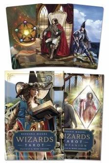 Wizards Tarot by Barbara Moore -