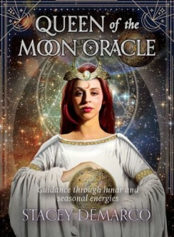 Queen of the Moon Oracle  Guidance through lunar and seasonal energies av Stacey Demarco -