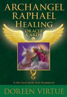 Archangel Raphael Healing Oracle Cards by Doreen Virtue -