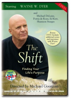 THE SHIFT - Finding your life's purpose av Wayne W. Dyer (Dubbel-DVD) -