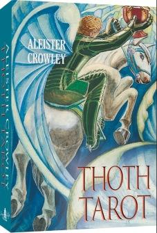 English Alister Crowley Thoth Tarot -