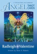 Angel Tarot Cards A 78-Card Deck and Guidebook av Radleigh Valentine