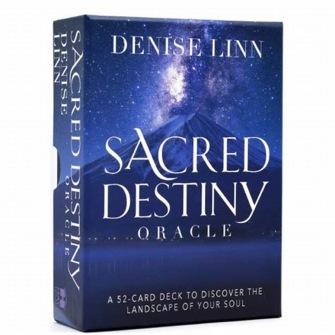 Sacred Destiny Oracle A 52-Card Deck to Discover the Landscape of Your Soul  av Denise Linn -