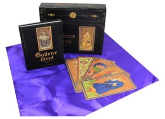 Gyllene tarot: Visconti-Sforzakortleken av Mary Packard -