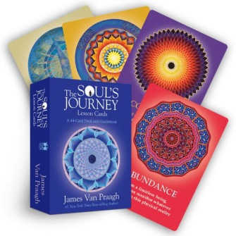 The Soul's Journey Lesson Cards by Mr James Van Praagh -