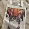 Väska - Katt i skog