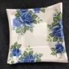 Keramikfat - Blå rosor