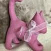 Tygkatt med kattmynta - Rosa