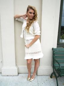 Greta Kjol - Greta kjol vit