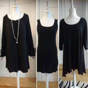 Olika klänningar - Sara 105 svart