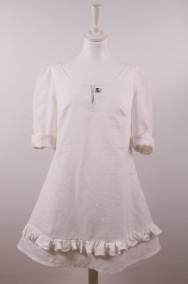 Louise 104 klänning - Louise klänning vitt linne