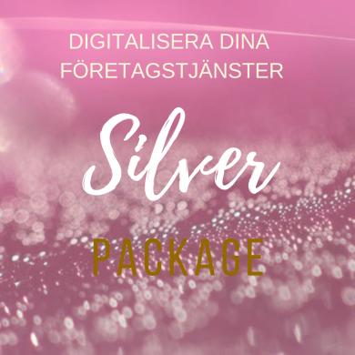 Digitalisera dina företagstjänster SilverPaket - Lansering- Digitalisera dina företagstjänster SilverPaket