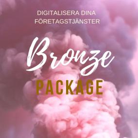 Digitalisera dina företagstjänster BronzePaket - Digitalisera dina företagstjänster BronzePaket