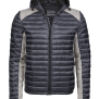 HOODED ASPEN CROSSOVER M - Space Grey/Grey 3XL