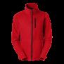 425 Fleece zip Alma - Red 3XL