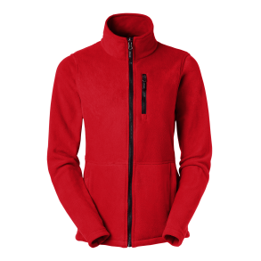 425 Fleece zip Alma - Red XS