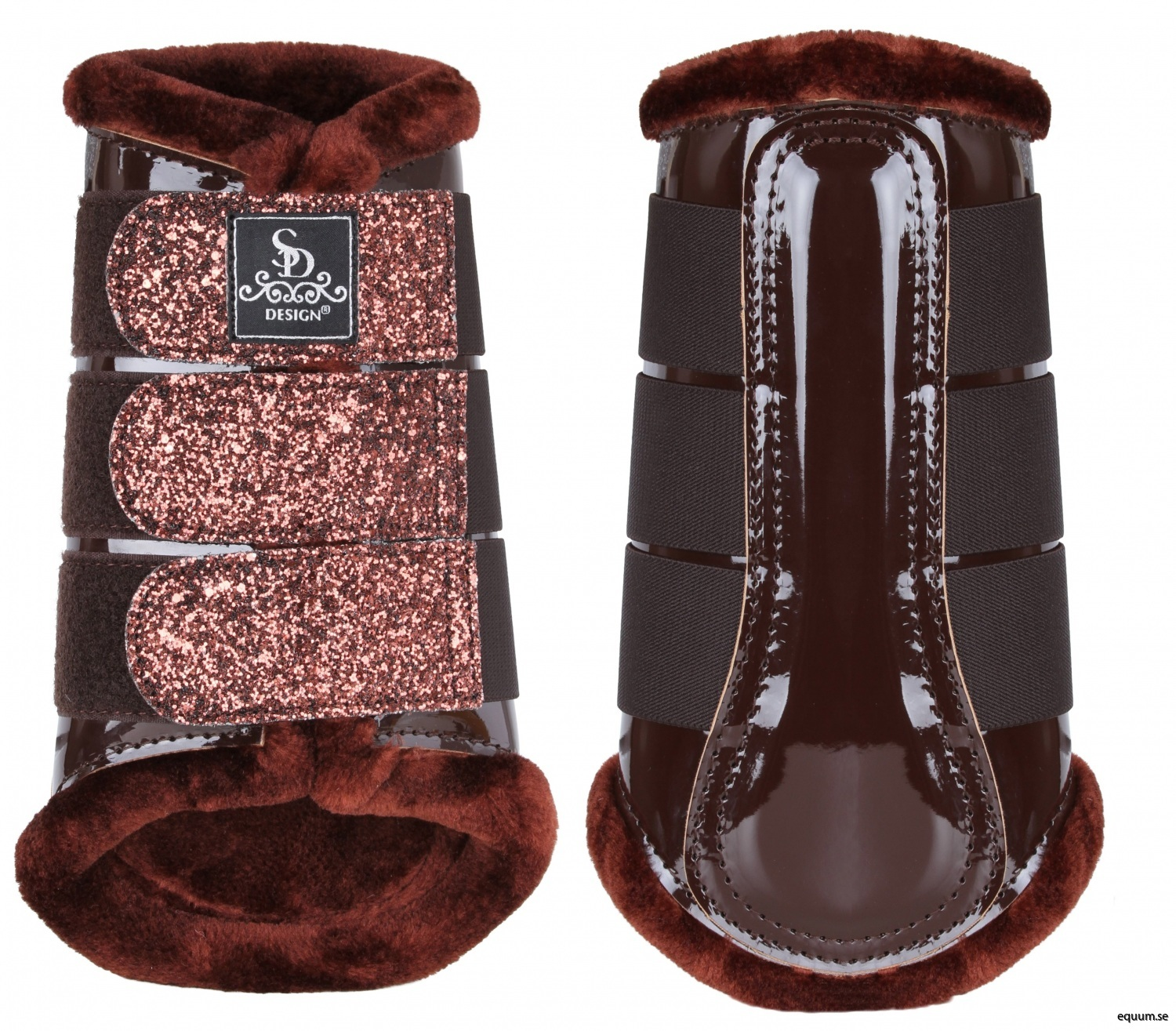 O-220-SD-Glitter-tendon-boots-brown