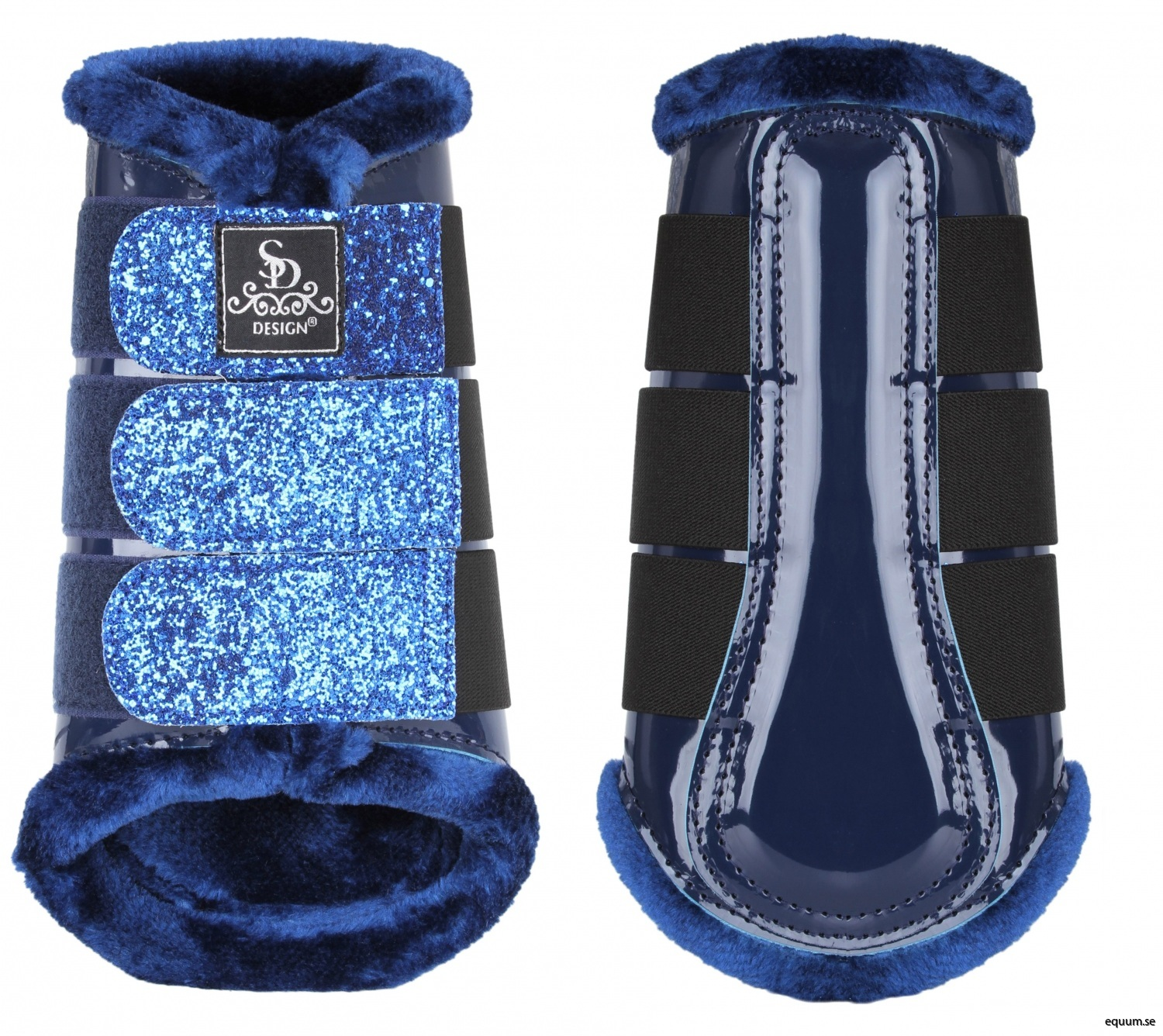 O-219-SD-Glitter-tendon-boots-navy