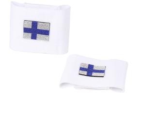 Bandageresår m Kristaller i vit - Cob-Full