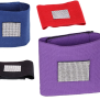 Bandageresår m Kristaller olika färger