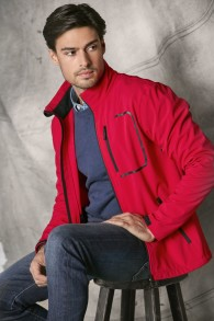 620 Atlantic m´s jkt - Red S