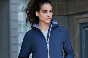 TJ9651 womens jacket - Navy(lightgrey) S
