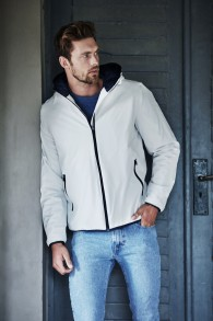 TJ9650 Comp jacket - Snow (Navy) S