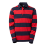 354 Wales Ms Rugby - Red/Navy 3XL