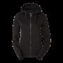 226 Ava lds zip hood - BLA/GREY 2XL