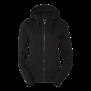 226 Ava lds zip hood - BLACK 2XL