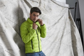 630 Jkt Ames padded LIME - Lime S