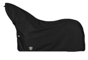 Regntäcke med hals - 135 svart