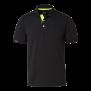 325 Weston Polo ms - Black/Lime 4XL
