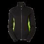 228 Lucy Zip collar - Black/Lime 2XL