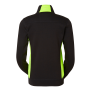228 Lucy Zip collar - Black/Lime L