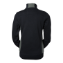 228 Lucy Zip collar - Navy/Grey 2XL