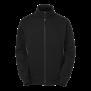 227 Lincoln Zip Coll - Black/Grey L