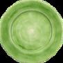 Mateus- Basic Plate 28 cm - Basic plate 28 cm Green