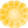 Mateus- Oyster Bowl medium - Mateus oyster medium  yellow