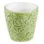 Mateus- Lace Mug 30cl - Mateus lace mug 30 cl green